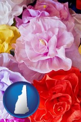 new-hampshire artificial flowers