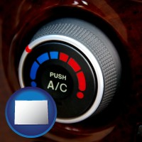colorado an automobile air conditioner control knob