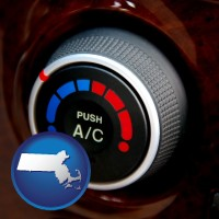 massachusetts an automobile air conditioner control knob