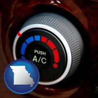 missouri an automobile air conditioner control knob
