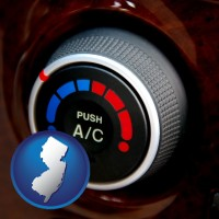 new-jersey an automobile air conditioner control knob