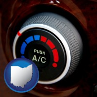 ohio an automobile air conditioner control knob