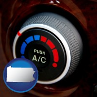 pennsylvania an automobile air conditioner control knob
