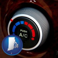 rhode-island an automobile air conditioner control knob