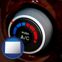 wyoming an automobile air conditioner control knob