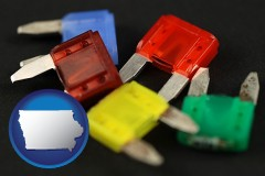 iowa colorful automobile fuses