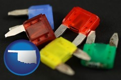 oklahoma colorful automobile fuses