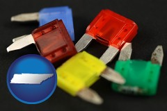 tennessee colorful automobile fuses