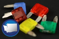 washington colorful automobile fuses
