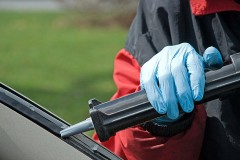an automobile windshield repair