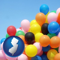 new-jersey colorful balloons