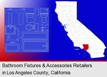 Bathroom Fixtures Accessories Retailers In Los Angeles County California