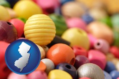 new-jersey colorful beads