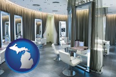 michigan a beauty salon