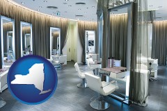 new-york a beauty salon
