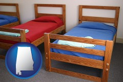 alabama summer camp beds
