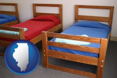 illinois summer camp beds