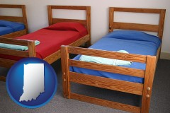 indiana summer camp beds