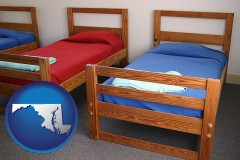 maryland summer camp beds
