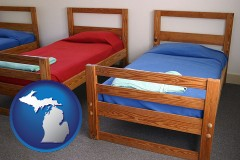 michigan summer camp beds