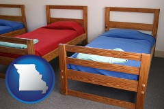 missouri summer camp beds