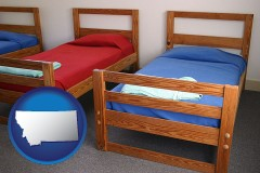 montana summer camp beds