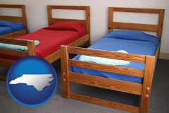 north-carolina summer camp beds