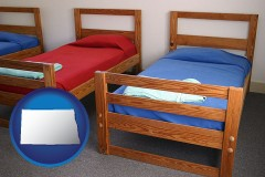 north-dakota summer camp beds