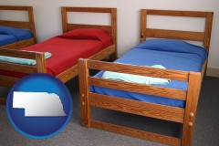 nebraska summer camp beds