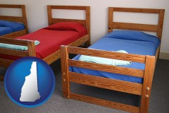 new-hampshire summer camp beds
