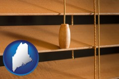 maine wood blinds