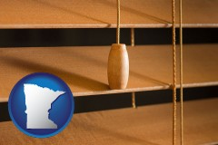 minnesota wood blinds