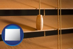 wyoming wood blinds