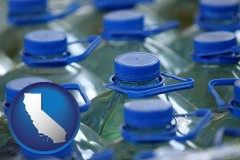 california bottled water
