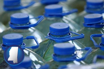 bottled water - with Mississippi icon