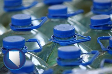 bottled water - with Nevada icon
