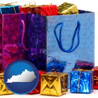 kentucky gift bags and boxes
