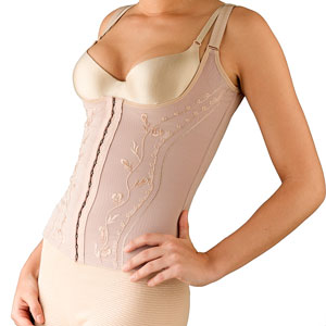 a brassiere and corset