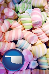 oklahoma colorful candies