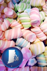 rhode-island colorful candies