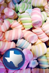 texas colorful candies