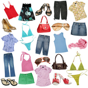 female clothing and accessories