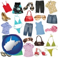 west-virginia female clothing and accessories