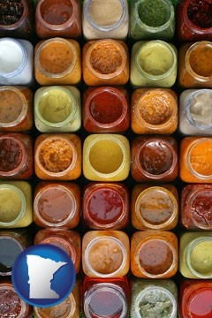 sauces - with Minnesota icon