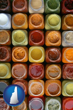 sauces - with New Hampshire icon