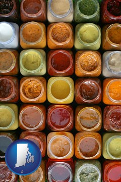 sauces - with Rhode Island icon