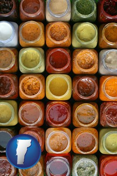 sauces - with Vermont icon