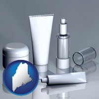 maine cosmetics packaging