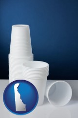 delaware disposable cups