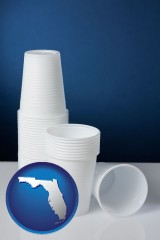 florida disposable cups